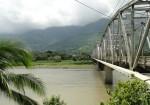 Bridge over Grande de Terraba River, Palmar Sur, Photos, Pictures, Hotels, Cabins